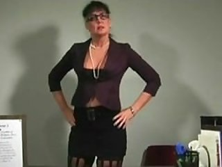 Mature teacher orders you to cum POV & JOI