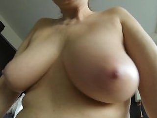 My mature saggy tits and my chubby belly..