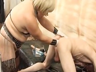Mature mistress fuck man slaves (very..