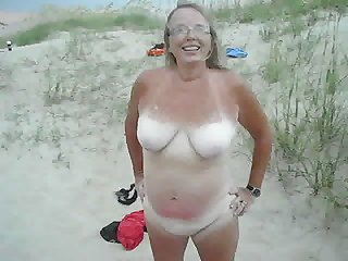 Wife See's fishermen videoing her..