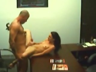 boss fucked secretary on hidden cam