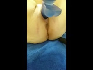 Masturbation selfie of BBW mother..