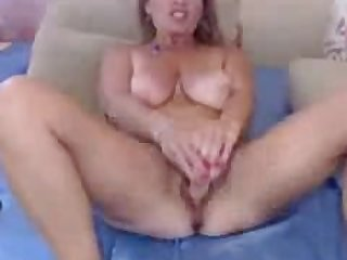 Busty Mature Blonde MILF With Glasses..