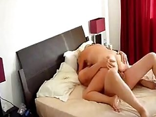 Hidden cam video with my wife during..