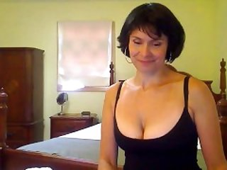 Classy Lady Teases on Camera