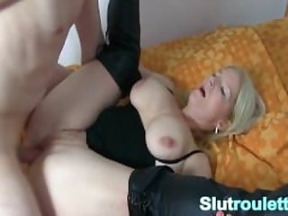 Cuckold German wife creampie