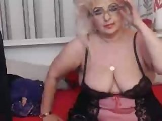 Blonde bbw mature webcam