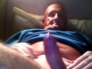 mature showing off his huge loads and..