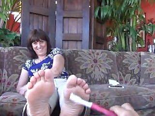 Penny ticklish