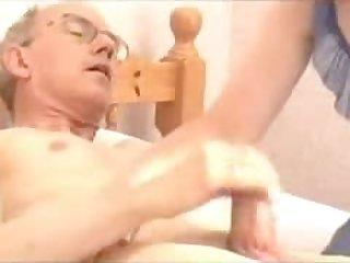 Grandpa_s Big Cock Attractive Mature -..