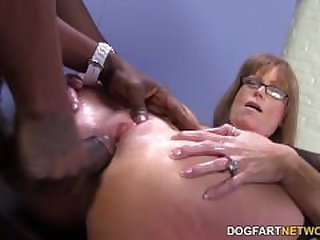 Sexy cougar Darla Crane gets anal from..
