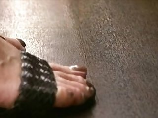 Asian Milf feet in sandals