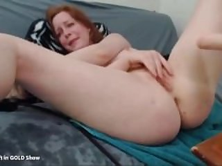 Redhead Rosemary Fuck Machine Webcam_720p