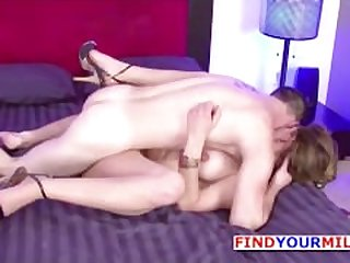 Mom Seduce German Lover to Fuck her Hard