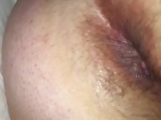 Wife's asshole