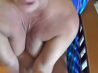 mature mom janet takes her first cock..