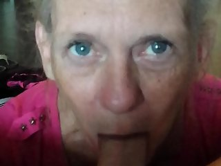 Granny giving me head