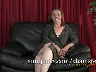 Redheaded MILF Amber is Aunt Judy's..