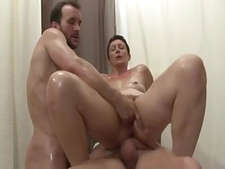 Hot Mature - Dble Vag Deep Fisting CIM..