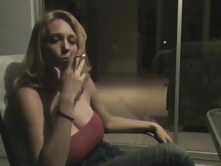 Smoking Fetish - Blonde JOI