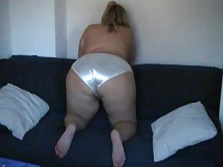 Satin Panty Ass 2