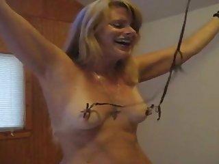 sweet mature wife begins bdsm slave..