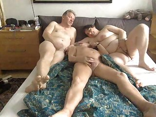 bisex cum in mature