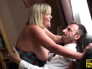 Big british bdsm broad squirts during..