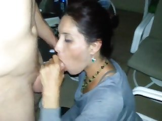 Sexy Wife Blowing Of Husband Friend Like..