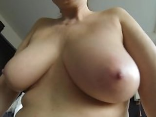 My soft mature udders in slow motion