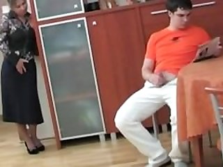 Russian Mom Caught Her Step Son..
