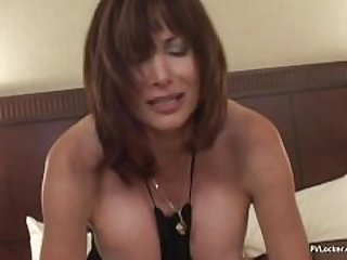 Wealthy Mrs. Philmore Finds Young Cock..