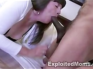 60 yr old Grandma Takes Big Black Cock..