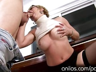 Milf music teacher seduces her sons..