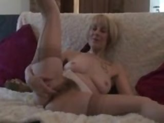 Mature Stocking Babes Big Hairy Pussy