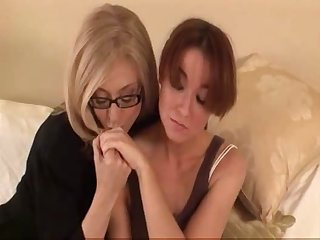Mature Woman Seduces Shy Young Girl...F70