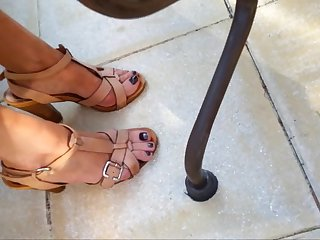 Friend's feet and heels 6