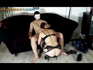 Baise amateur avec un internaute timide