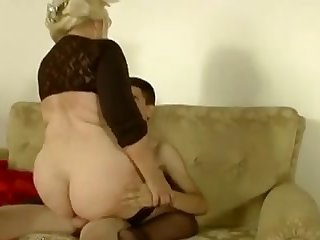 Spanish mature and boy with big cock 4