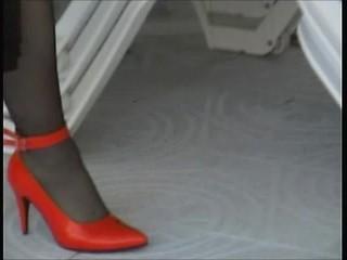 Sexy legs flashing part 2