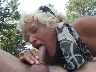 Old & Young - grandma fucks with..