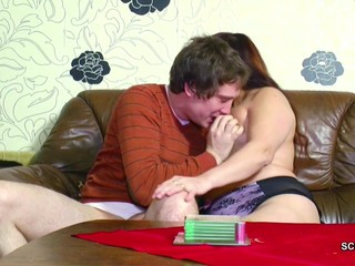 German Young Man Seduce Step-Mom to get..