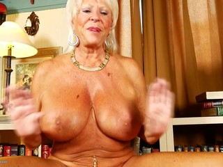 Mature.NL presents best busty grannies..