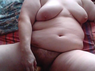 BBW Irina toying, blowing and fucking..