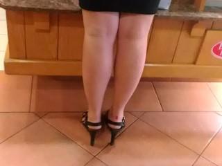 Very sexy big mature ass -blond fat ass- 2
