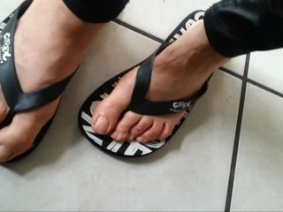 Nice natural feet video from today