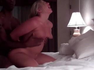 Blonde hotwife likes to fuck hard
