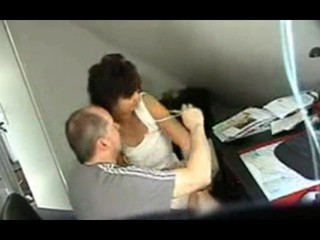 Hidden cam Mature Fucked in Office