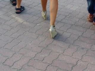Amazing Ass Legs Od Mature Lady