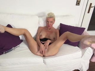 Posh lusty matures with big tits and hot..